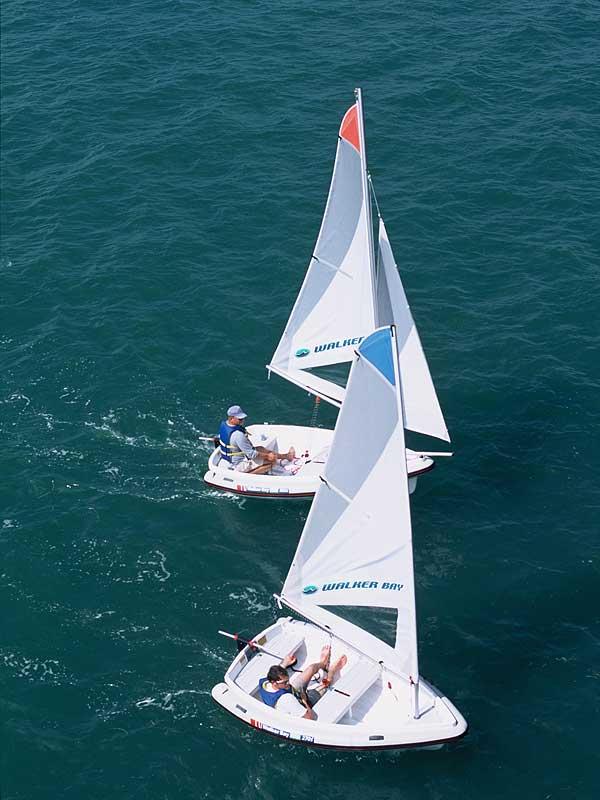 2001 walker bay 8 dinghy sailboat