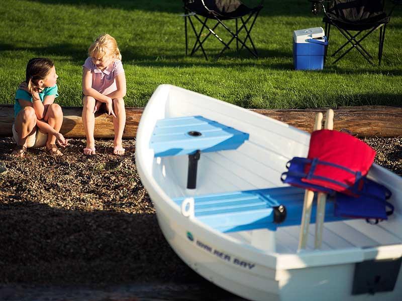 Пластиковая лодка walker bay wb 8 песочная / рыболовный магазин рыбалочка